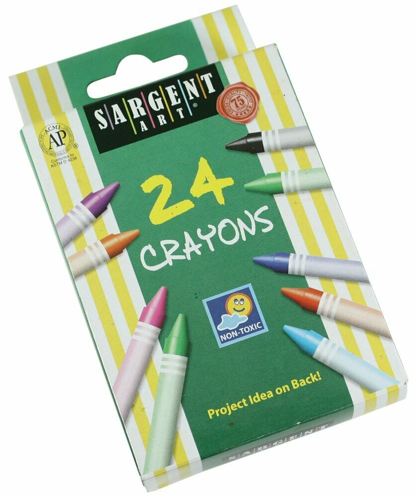 Sargent Art  / Crayons 24 Colors