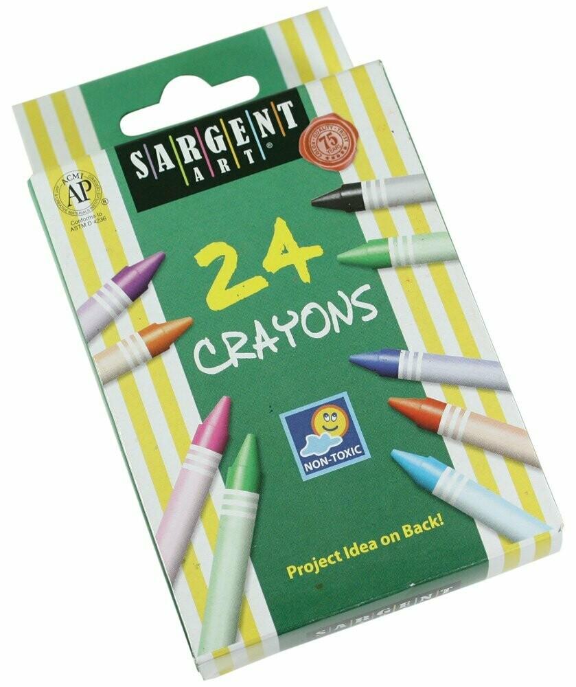 Sargent Art  / Crayons 24 Colors