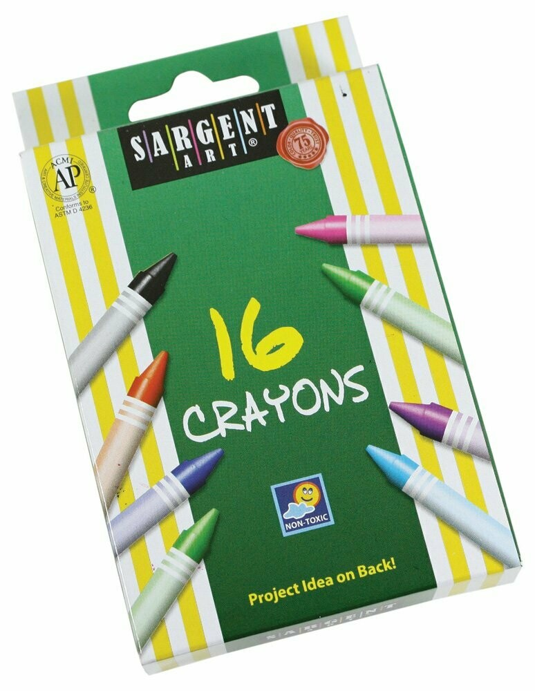 Sargent Art / Crayons 16 Colors
