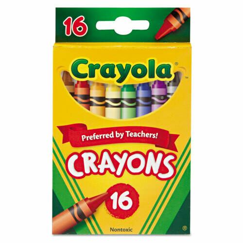Crayola / Crayons, 16 Colors
