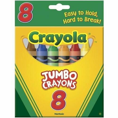 Crayola / Crayons So Big 8 Colors