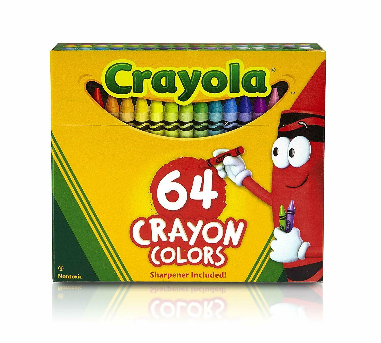 Crayola / Crayons 64 Colors