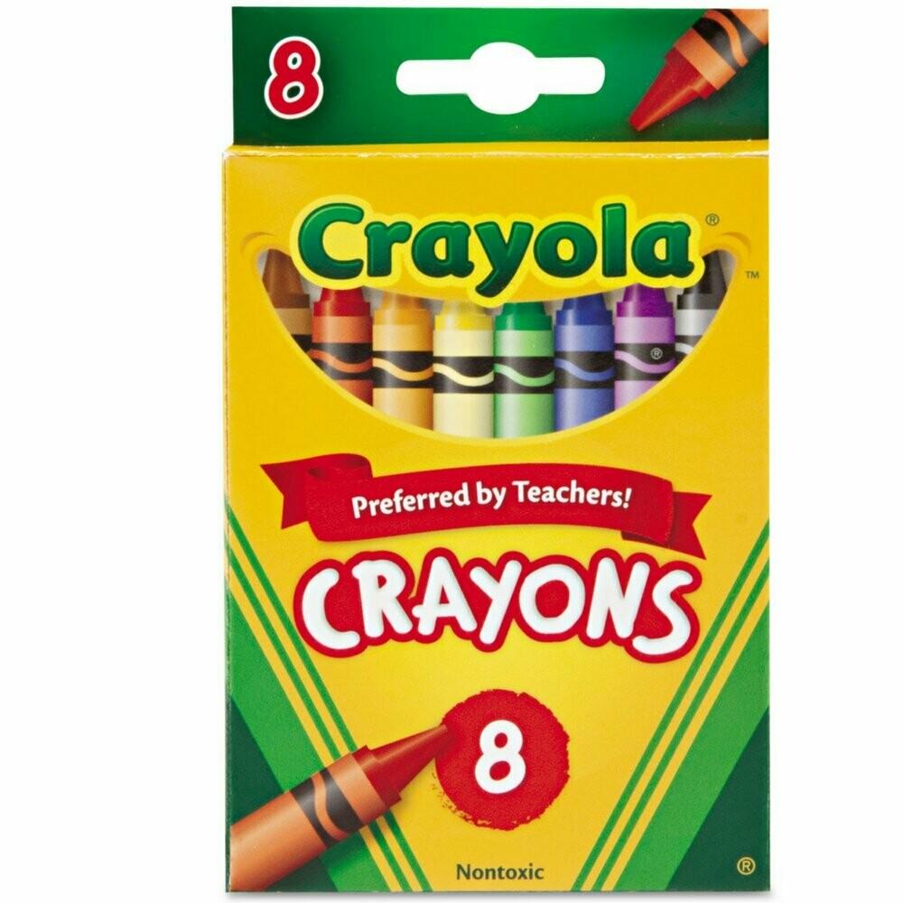 Crayola / Crayons 8 Colors