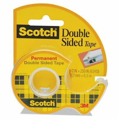Scotch / Double-Sided Permanent Tape in Handheld Dispenser, 1