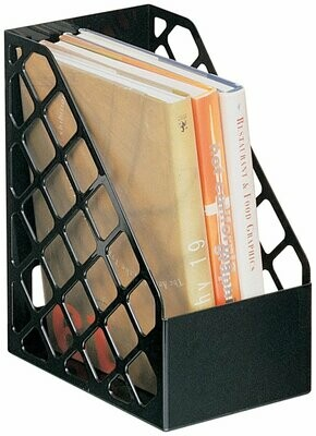 Officemate / Recycled Large Magazine File, Black