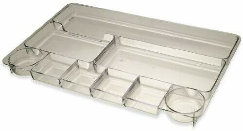 Officemate / Drawer Tray, Clear, 9 Compartments