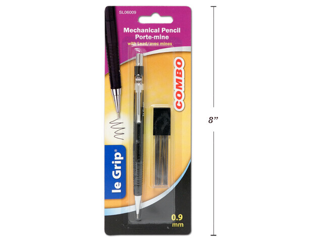 Selectum / Mechanical Pencil 0.9 mm with Extra Leads
