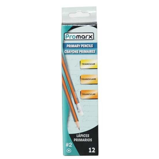 Promarx / Wood Triangular Pencil, Pk-12