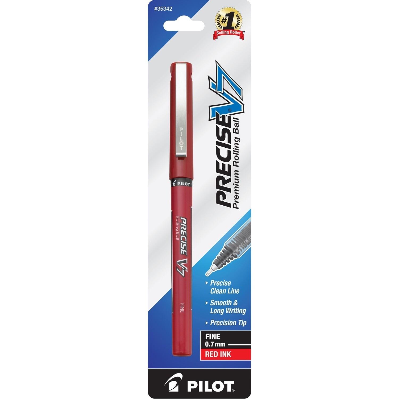 Pilot / Precise Pen V7, Fine, Red Ink