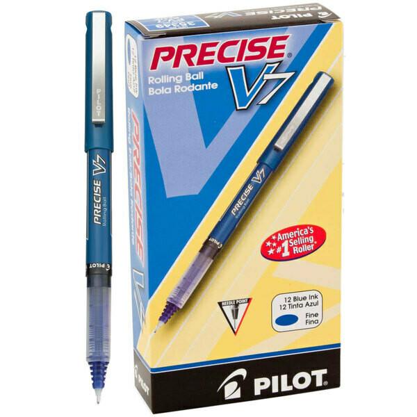 Pilot / Precise V7 BLUE Premium Rolling Ball, Fine