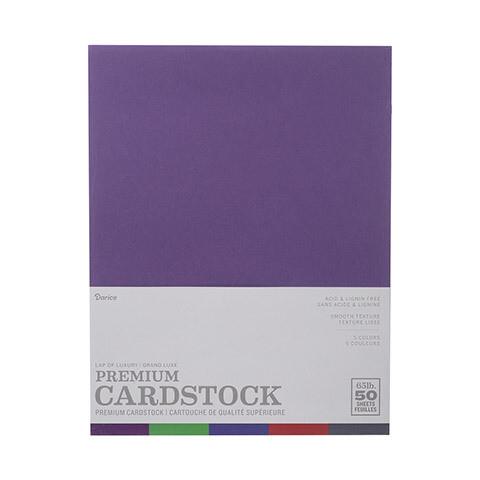 Darice / Cardstock Lap of Luxury, Pk-50