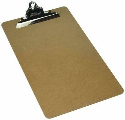 Bazic / Wood Clipboard, Legal Size