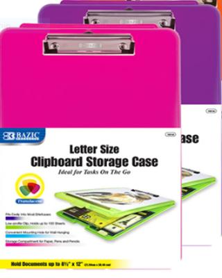 Bazic / Storage Case, Transluscent, Clipboard