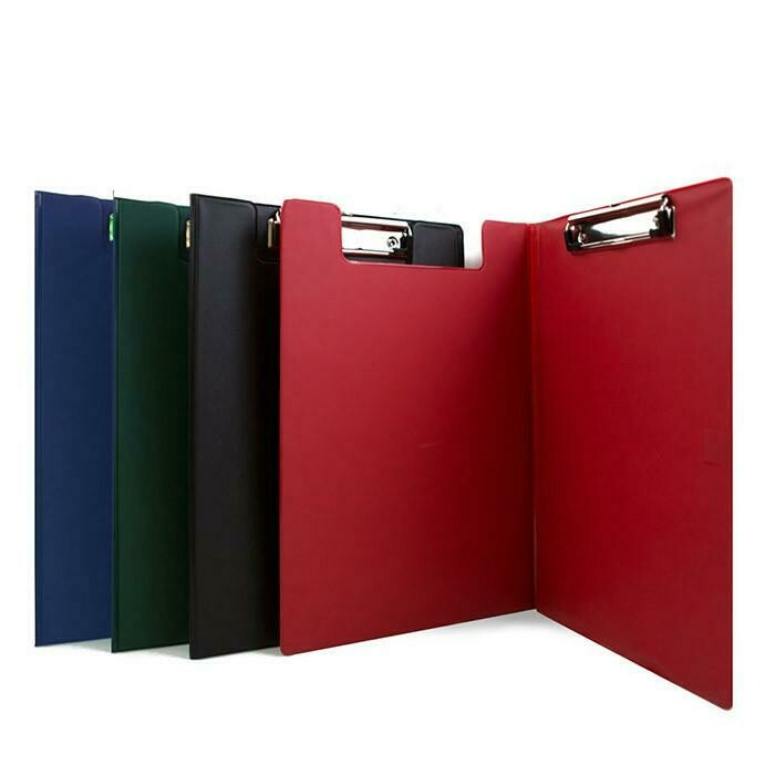 Bazic / ClipFolder w/Low Profile Clip, Assorted Colors