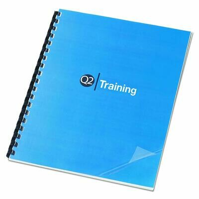 Tamerica / Clear View Presentation Binding Cover, Clear, Pk-100