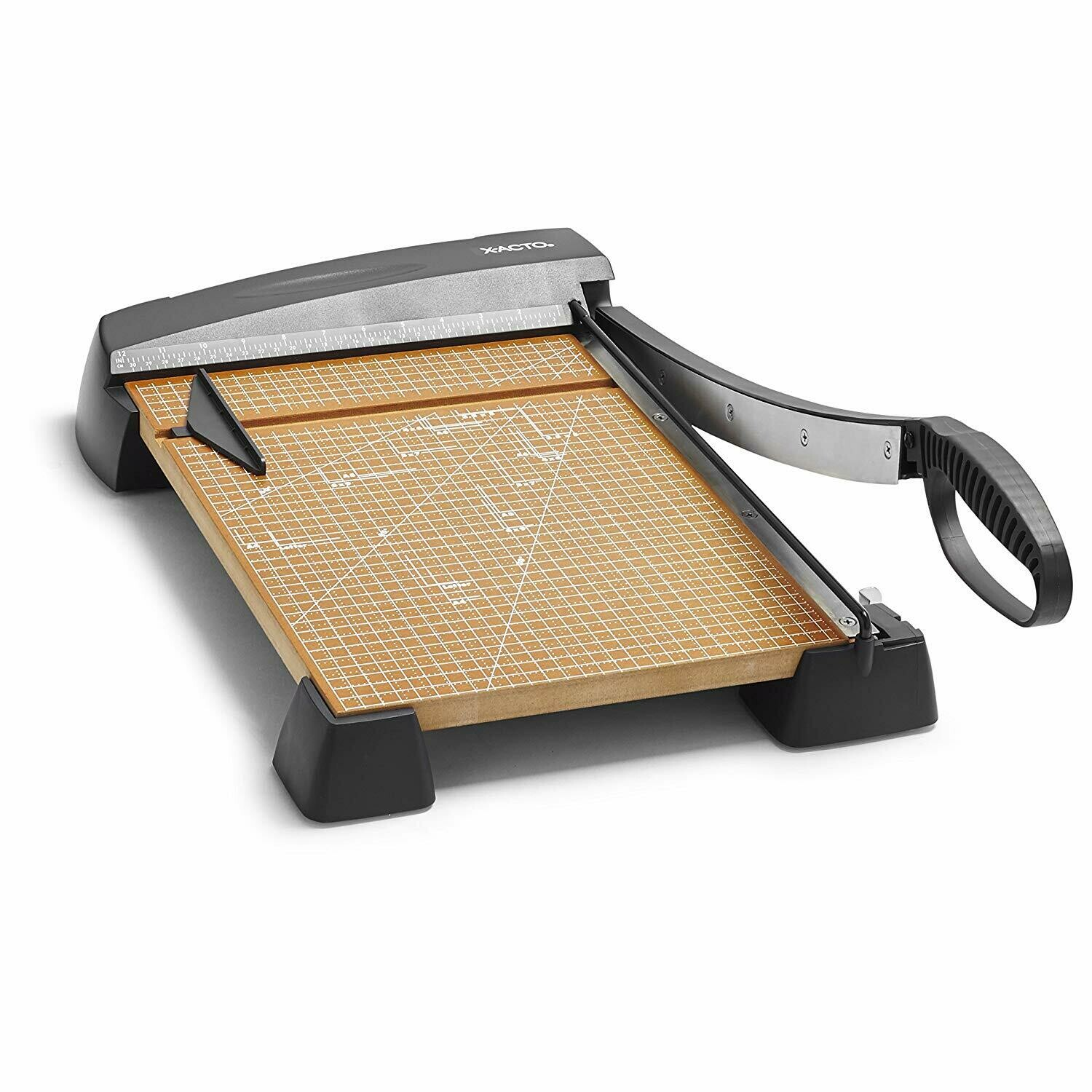 """Heavy Duty 15"""" Wood Guillotine Trimmer, 15 Sheets Capacity"""