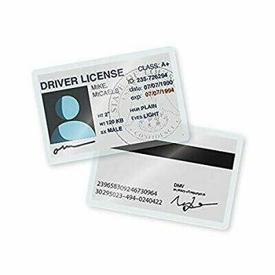 Top Products / Laminating Pouch ID Card, 5mil, 100ct