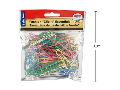 Link products / Paper Clips Jumbo Assorted Colors Pk-80