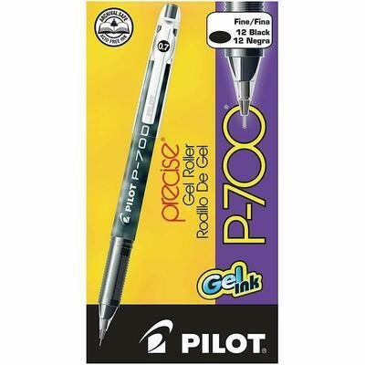 Pilot /Precise Gel Roller P700, Fine, Black