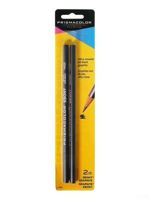 Prismacolor / Ebony Graphite Drawing Pencil, Pk-2