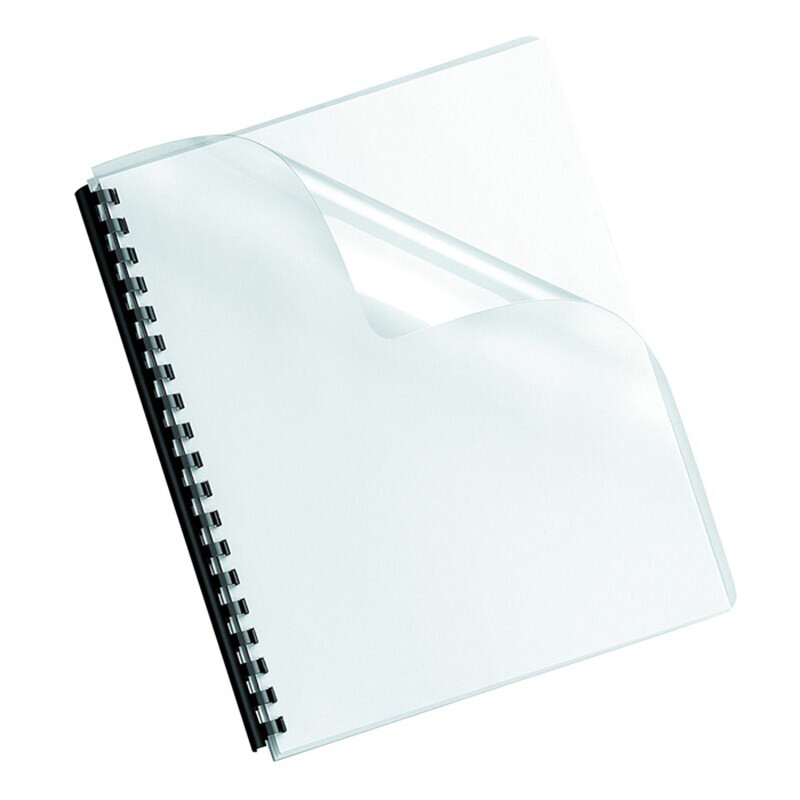 Tamerica / Binding Cover Clear Letter Sz, Round Edge, 7mil, 100/Bx