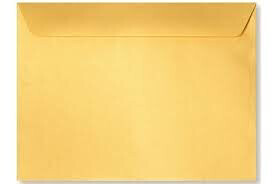 "Envelope Booklet 9""x12"" Open Side Kraft [bx-250]"