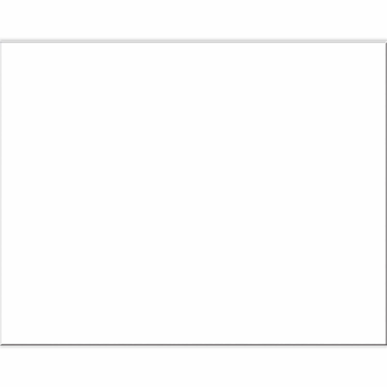 """Pacon / 4-Ply Railroad Board, White, 22"""" x 28"""", Pk-100 Sheets"""