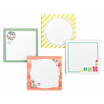 """Post-it Notes Designer Printed Notes, 3x3"""" Assorted Designs"""