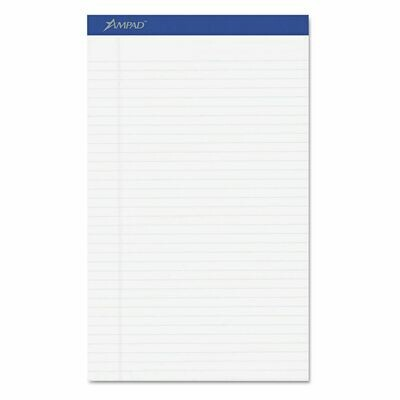 "Ampad / Pad 8.5"" x 14"". Legal Size, White, Pk-12"