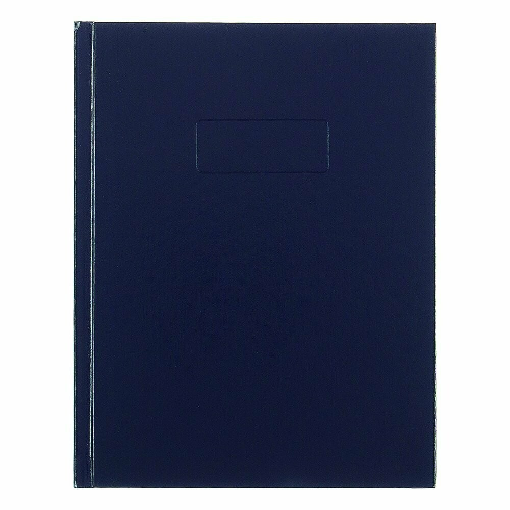Blueline / Business Notebook with Cover, Blue, 192 Pages