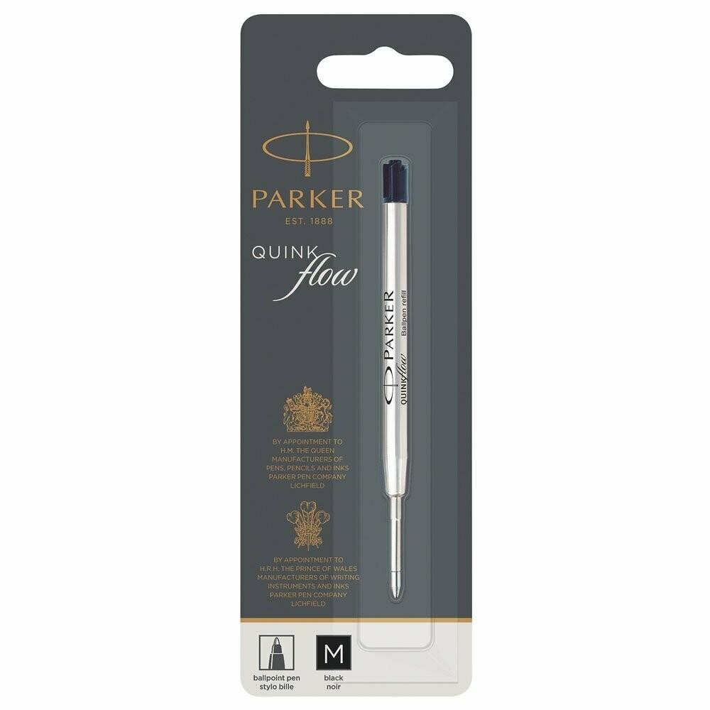 Papermate / Parker Ballpoint Pen Refill, Black, Medium