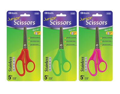 """Bazic / Scissors 5"""" Junior, Blunt Tip"""