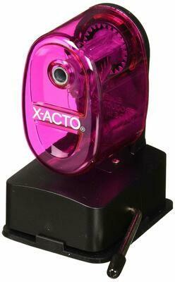 Manual Pencil Sharpener, Assorted Colors/ X-Acto / Bulldog Vacuum Mount