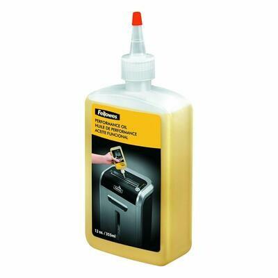 Fellowes / Powershred Performance Oil, 12 oz. Bottle w/Extension Nozzle