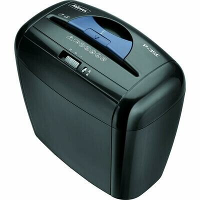 Fellowes / Powershred P-35C 5-Sheet Cross-Cut Paper and Credit Card Shredder with Safety Lock