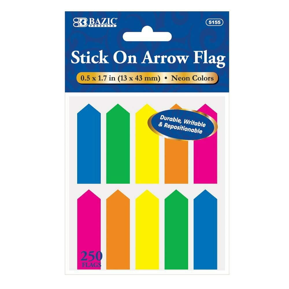 Bazic / Neon Color Arrow Flags