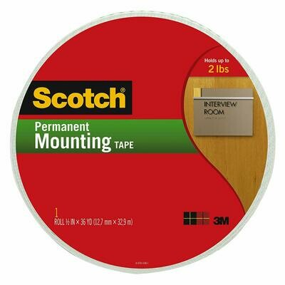Scotch / Indoor Mounting Tape 3/4