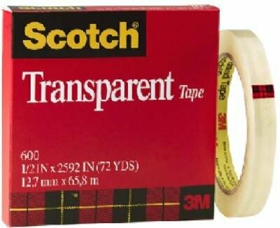 Scotch / Transparent Tape 1/2