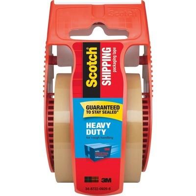 Scotch / Heavy Duty Shipping Packaging Tape, Tan, 1.88