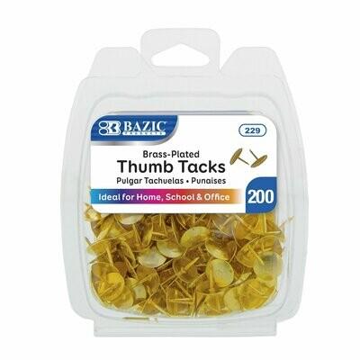 Bazic / Brass (Gold) Thumb Tack
