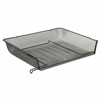 Rolodex / Mesh Stacking Side Load Tray, 1 Section, Letter Size Files, 14.25