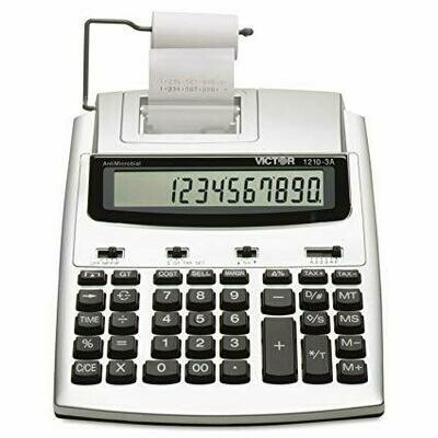 Victor Technology / Antimicrobial 10-Digit HT Printing Calculator