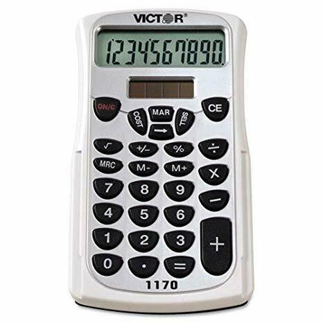 Business Analyst Calculator w/Slide Case, 10-Digit LCD