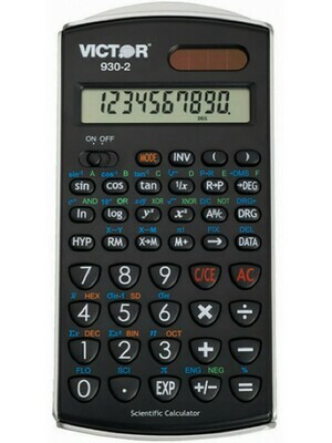 Scientific Calculator with Solar Power-10 Digit