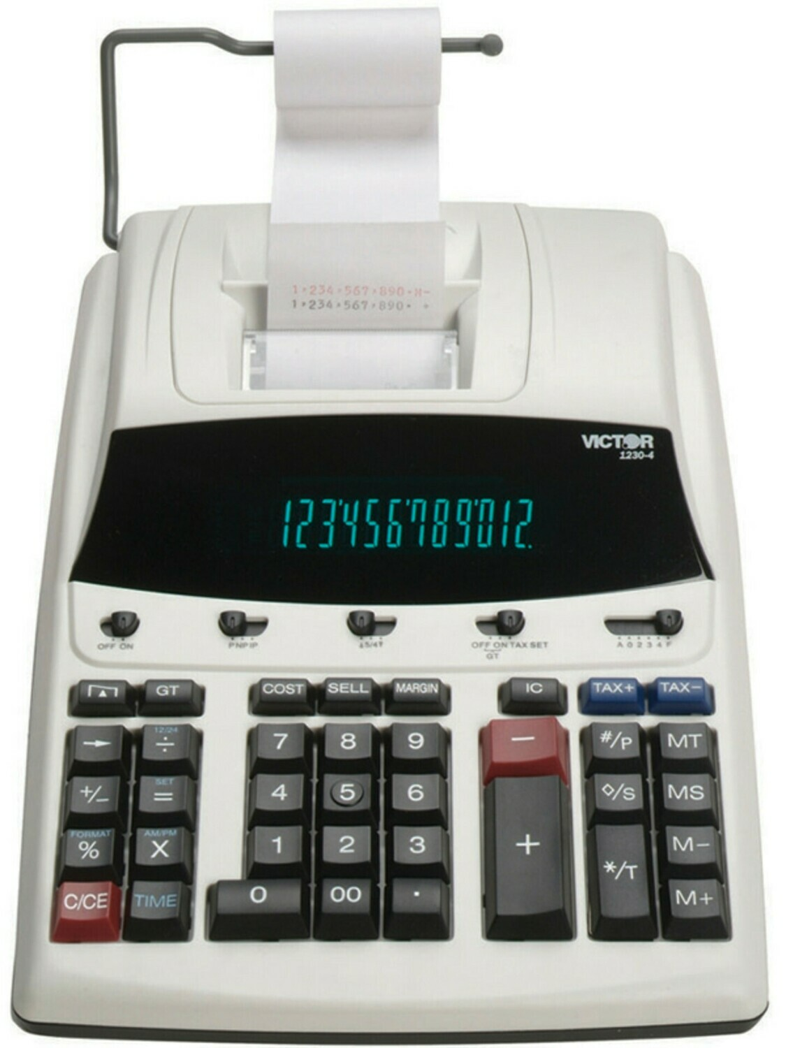 Victor Technology  / 12 Digit Commercial Printing Calculator