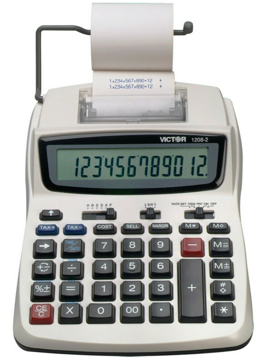 Victor Technology / 12 Digit Compact Commericial Printing Calculator