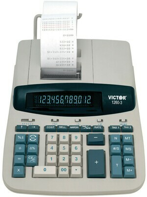 Victor Technology / 12 Digit Heavy Duty Commercial Printing Calculator