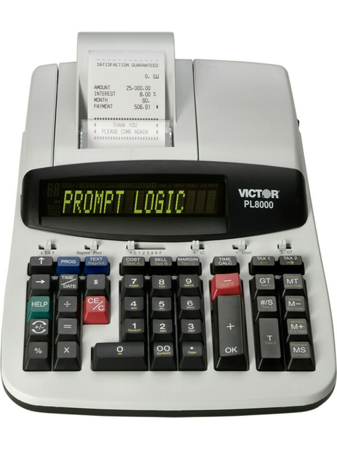 Victor Technology / 14 Digit Heavy Duty Commercial Priting Calculator with Prompt Logic™