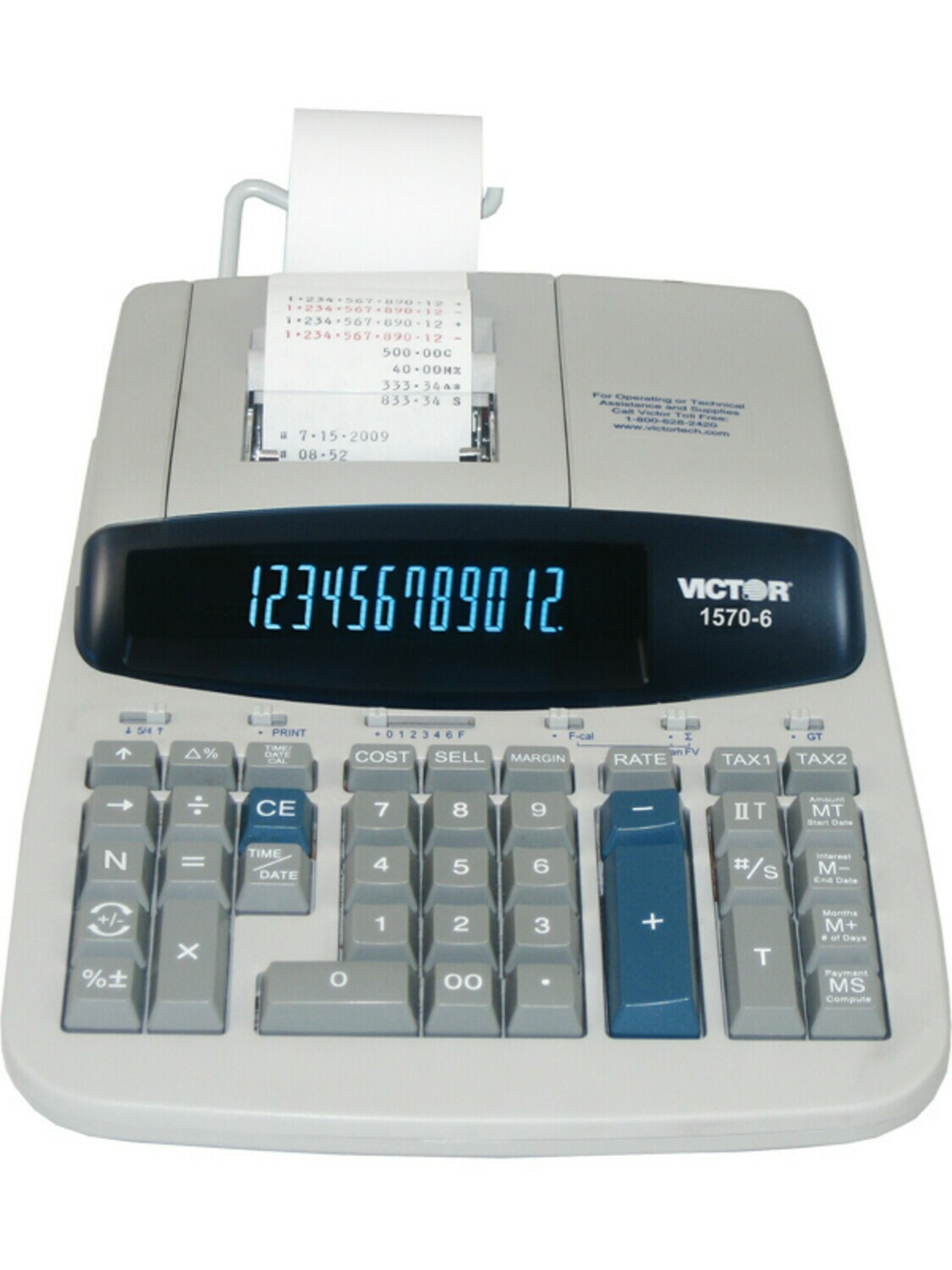 Victor Technology / 14 Digit Professional Grade Heavy Duty Commercial Printing Calculator
