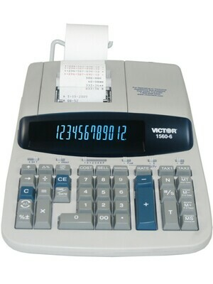 Victor Technology / 12 Digit Professional Grade Heavy Duty Commercial Printing Calculator
